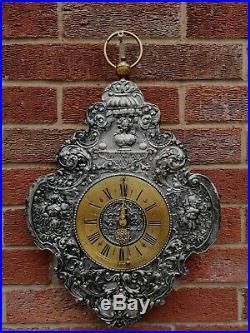 Very rare museum quality, telleruhr clock, zappler clock, early 1700. Verge