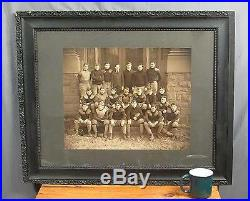 Vintage Antique Football Team Photograph Huge early 1900s Shippensburg, PA. Rare