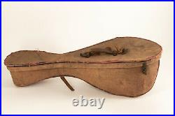 Vintage Antique Late1800's Early1900's Washburn Bowlback Mandolin With RARE CASE
