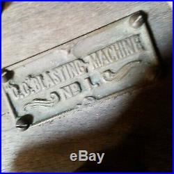 Vintage Antique early rare CC Blasting Machine FREE SHIPPING