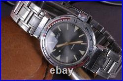 Vintage Early VOSTOK Eared AMPHIBIAN Lugs Diver 20ATM Watch USSR Luminous Rare