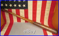 Vintage Houcks Northern Ash 54 Wood Baseball Bat 33 Antique early 1900s Rare